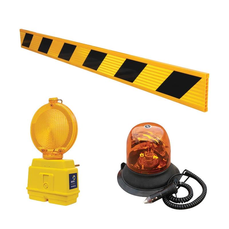 Barrier Boards & Hazard Lamps