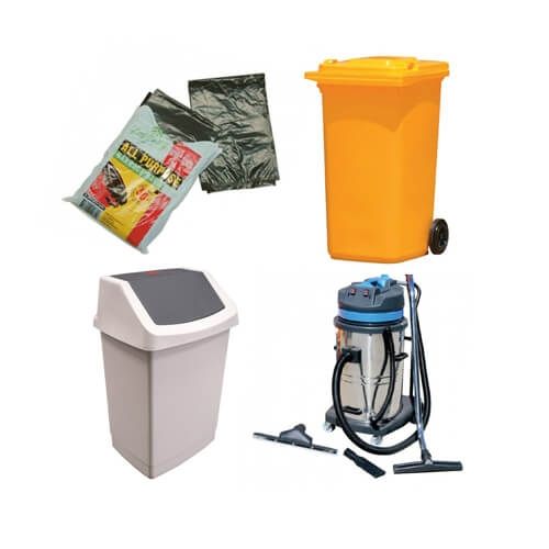 Garbage Bins, Bags & Vacuum Cleaners