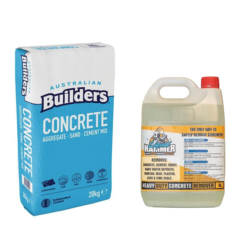 Cement Mix & Concrete Remover