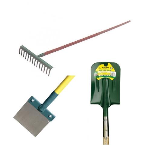 Shovels, Rakes & Scrapers