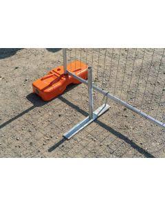 Custom Temp Fence Brace