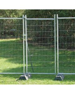 temporary fence gate