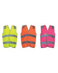 Safety Vest Hi-vis Day / Night Taped, Hoop Pattern