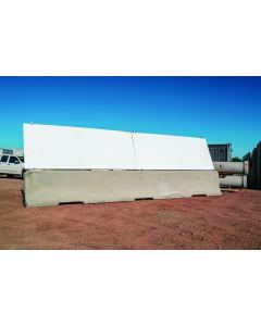 Angled PVC Anti-Gawk Panels