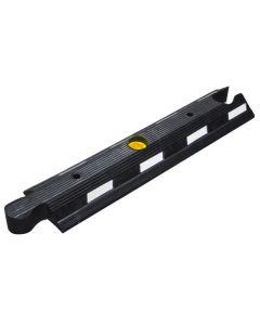 Traffic Separator - Black Centre Module - Flexible