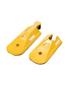 Traffic Separator - End Cap Set - Yellow