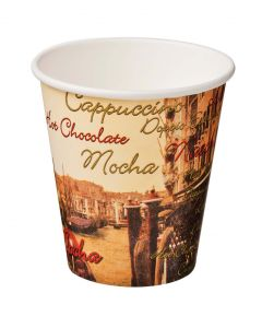 Paper Cups with colour print, box of 1000