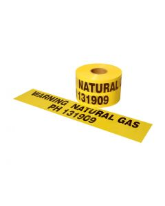 Gas Mains Marker Tape