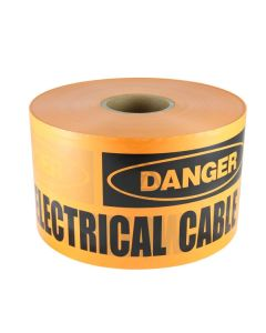 Mains Marker Tape Non-Detectable Orange (Electricity Main)