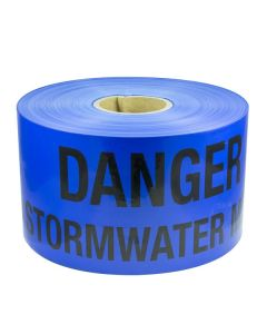 Mains Marker Tape Non-Detectable Blue (Stormwater Main)