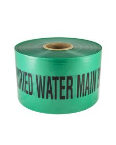 Mains Marker Tape Non-Detectable Green (Water Main)