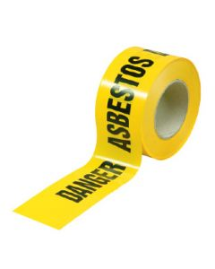 Barrier Tape DANGER ASBESTOS 50mx75mm
