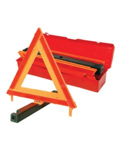 Breakdown Reflective Triangle With Weighted Base - Red