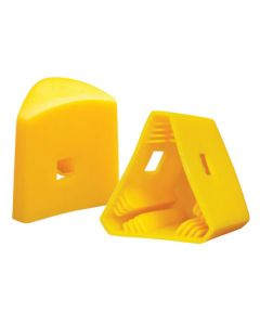 Fence Post Cap - Triangular Fence Post Cap Yellow