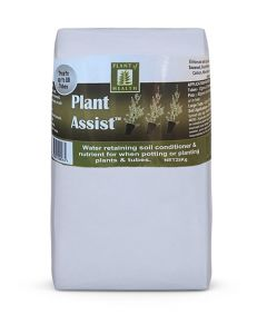 Plant Assist soil additive for landscaping