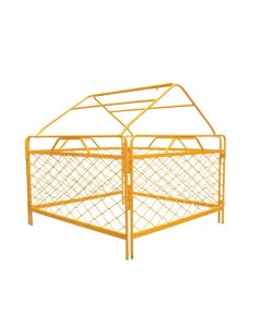 4 Sided Aluminium Pit Guard with Tent Frame