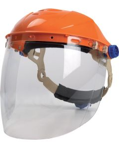 High Impact Face Shield With Visor