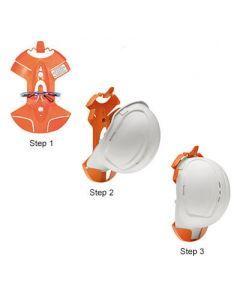 Cap Grip - Hard Hat Storage Bracket
