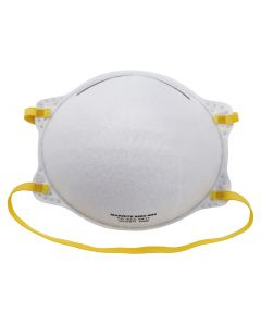 Disposable P2 respirator without valve