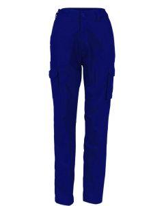 Ladies Cotton Drill Cargo Pants