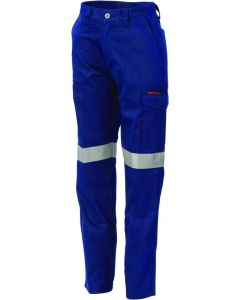 Ladies Taped Cotton Drill Cargo Pants