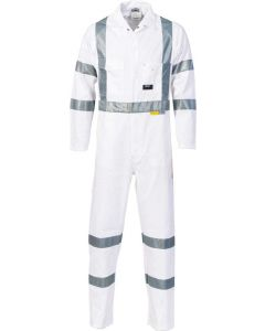 Cotton Drill Overall with Reflective Tape (RTA Standard)