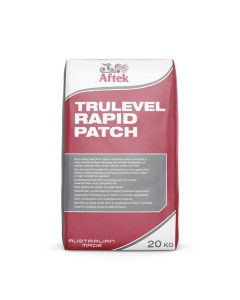 Aftek Trulevel Rapid Patch Floor Repaid Mortar Floor Leveller