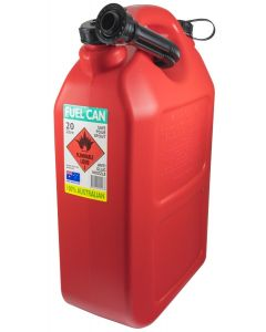 Fuel Container - 20L Poly Red