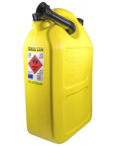 Fuel Container - 20L Poly Yellow