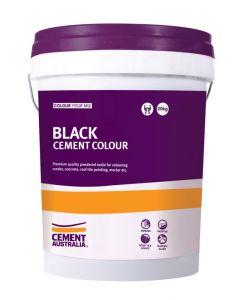 Black Oxide Cement Colour 20kg Pail