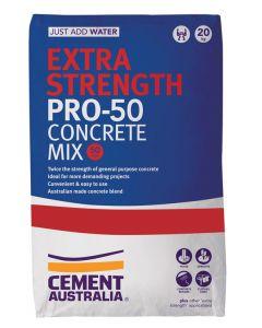 Extra Strength Pro-50 Concrete Mix, 20kg Bag