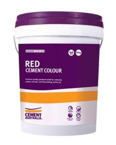 Red Oxide Cement Colour 20kg Pail
