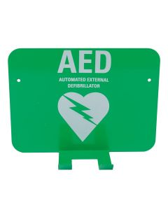 AED Wall Bracket with Signage for Defibrillator