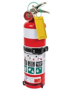 Fire Extinguisher 1Kg ABE  -  With metal vehicle bracket
