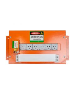Temporary Indoor Power Board   Auxillary Outlet Socket Panel (ASOP)