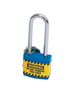 Safety Padlocks - Lightweight Blue Isolation Lock