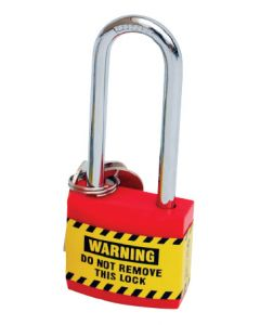 Safety Padlocks - Lightweight (Red)