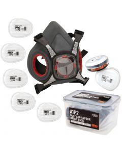 ProChoice Maxi Mask Half Face Respirator Spraying Handy Pack - A1P2