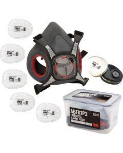 ProChoice Maxi Mask Half Face Respirator Chemical Handy Pack - ABEK1P2