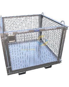 Goods Storage Cage with Lifting Lugs