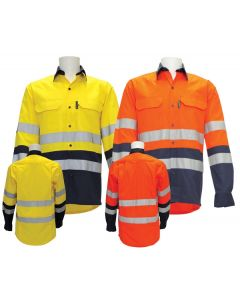 ARC Rated Shirt with Reflective Tape HRC2 Compliant