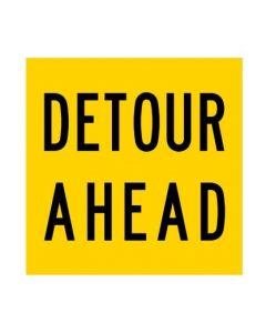 Detour Ahead (MMS-ADV-9A) WA Mutli Message Sign