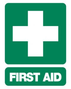 Emergency Sign - FIRST AID