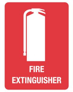 Fire Sign - FIRE EXTINGUISHER
