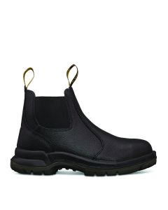 Oliver Kings Black Elastic Sided Safety Boot