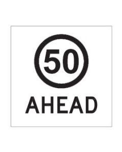 50 Ahead Class 1 / Corflute 600 x 600mm