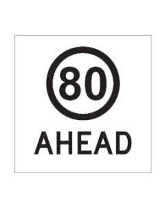 80 Ahead Class 1 / Corflute 600 x 600mm