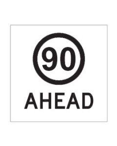 90 Ahead Class 1 / Corflute 600 x 600mm