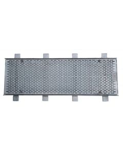 Trench Grate and Frame Heel Proof