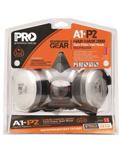 Pro Choice Half Mask Respirator Kit with A1P2 Cartridges